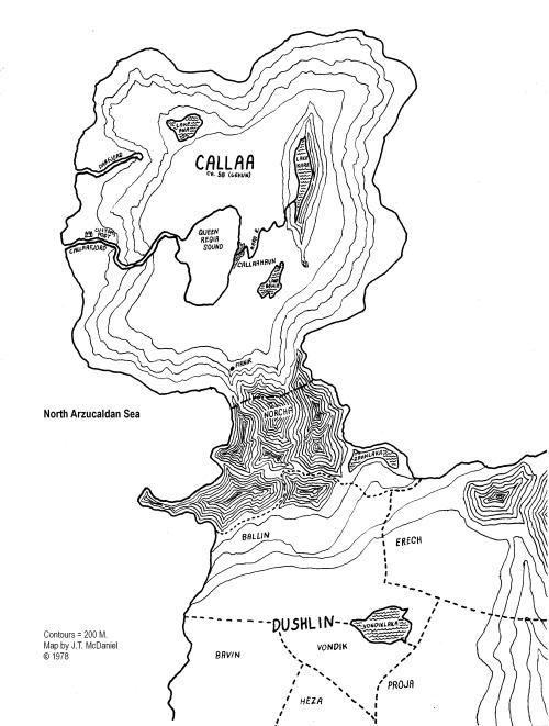 Callaa-map